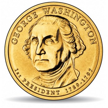 George Washington, Präsidentendollar 2007, USA