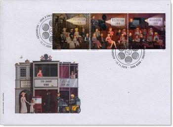 125 Jahre Kino - Ersttagsbrief, Schweiz