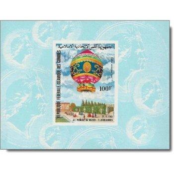 200 Jahre Luftfahrt - 4 Luxusblocks postfrisch, Katalog-Nr. 681-684, Komoren