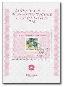 BdPH Jahresgabe 1992: Dressurreiten