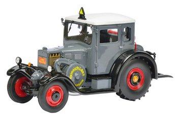 Modell-Traktor:Lanz Eilbulldog mit Kabine, grau(Schuco/PRO.R32, 1:32)