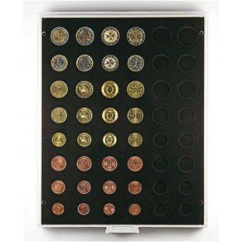 LINDNER Münzenbox, für Kursmünzensätze, LI 2506C, Carbo
