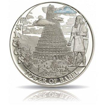 Turmbau zu Babel, 2 Dollar Silbermünze, Palau