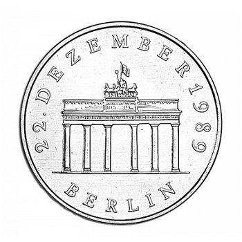 """20-Mark-Münze 1990 """"Öffnung des Brandenburger Tors"""", DDR"""