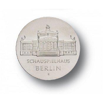 10-Mark-Münze 1987, Schauspielhaus Berlin, DDR