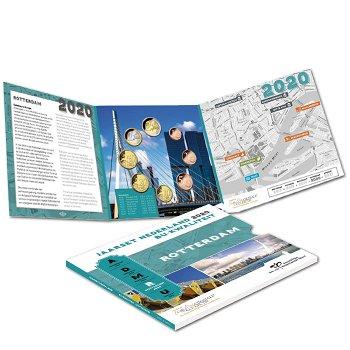 Euro-Kursmünzensatz 2020, Stempelglanz, Niederlande
