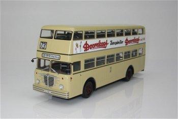Modell-Bus:Büssing D2U mit offenem Heckeinstieg - Doornkaat -(Minichamps, 1:43)