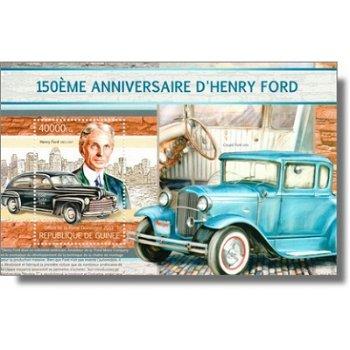 Henry Ford - Briefmarken-Block postfrisch, Guinea
