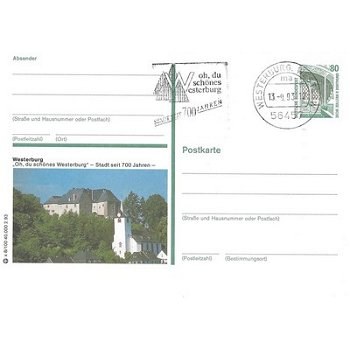 """5438 Westerburg - Bildpostkarte """"Oh du schönes Westerburg"""""""
