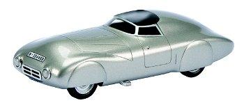 Modellauto:Hanomag DieselWeltrekordwagen von 1936(Schuco/PRO.R43, 1:43)