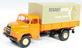 """Modell-LKW:Saviem Kurzhauber PP """"Renault Service""""(Brekina, 1:87)"""