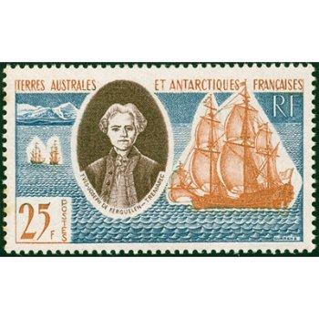Yves Joseph de Kerguelen - Briefmarke postfrisch, Katalog-Nr. 23, TAAF
