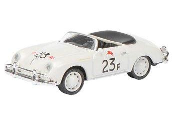 Modellauto:Porsche 356 Speedster- Jimmy´s Speedster - # 23F, weiß(Schuco, 1:87)