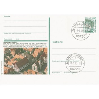 8860 Nördlingen - picture postcard