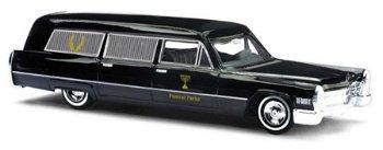 Modellauto:Cadillac Fleetwood - Bestattungswagen -(Busch, 1:87)