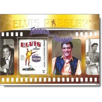 """Elvis Presley """"Frankie and Johnny"""" - Briefmarken-Block postfrisch, St. Vincent und Grenadi"""