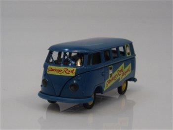 Modellauto:VW T1 B Kombi - Glockner Rad -(Brekina, 1:87)