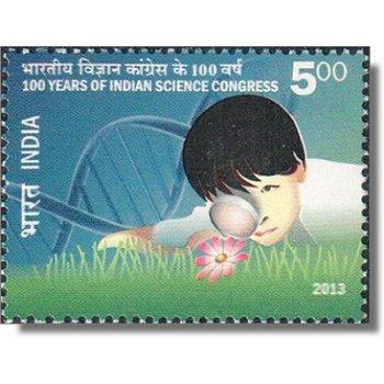 100 Jahre Indischer Wissenschaftskongress - Briefmarke postfrisch, Katalog-Nr. 2689, Indien