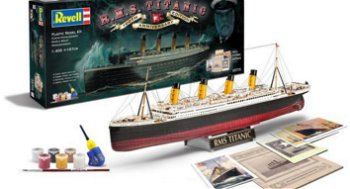 Bausatz:R.M.S. Titanic - Geschenk-Set -inklusive Farben(Revell, 1:400)