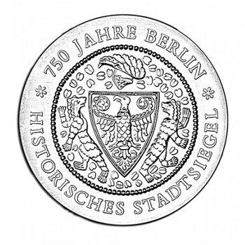 750 Jahre Berlin - Stadtsiegel, 20 Mark Münze 1987, DDR