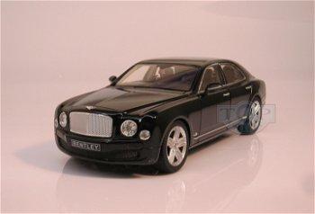 Modellauto:Bentley Mulsanne von 2012, schwarz(Rastar, 1:18)