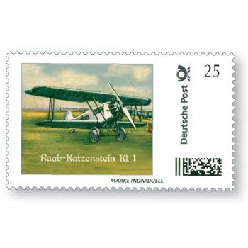 Flugzeug Raab-Katzenstein KL. 1 Schwalbe - Marke Individuell, postfrisch