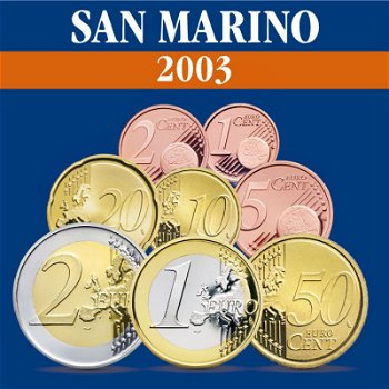 San Marino - Kursmünzensatz 2003