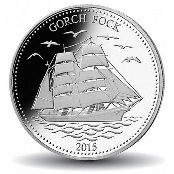 Geschichte der Seefahrt: Die Gorch Fock, Silbermünze, Samoa