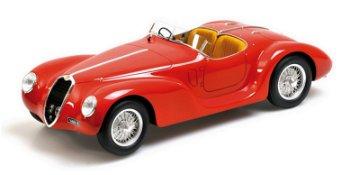 Modellauto:First Class CollectionAlfa Romeo 6C 2500 SS Corsa Spidervon 1939, rot(Minichamps, 1:18)