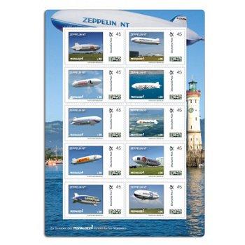 20 Jahre Zeppelin NT - Kleinbogen postfrisch, Deutschland