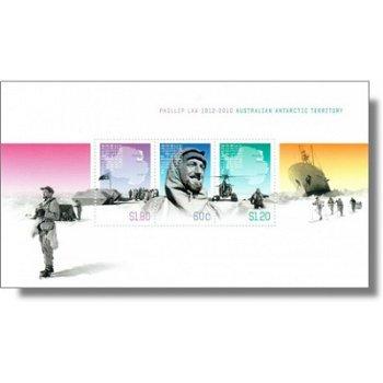 100. Geburtstag von Phillip Law - Briefmarken-Block postfrisch, Block 8, Australische Gebiete in der