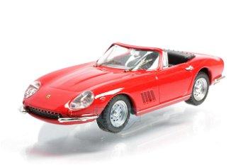 Modellauto:Ferrari 275 GTB/4 Spider, rot(Best, 1:43)