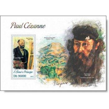 Paul Cézanne - Briefmarken-Block postfrisch, Katalog-Nr. 5230, St. Thomas