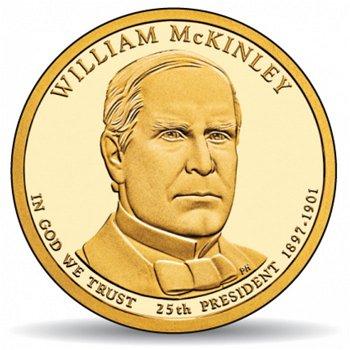 William McKinley, Präsidentendollar 2013, USA