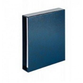 LINDNER Kassette zum Vordruckalbum 2-Euro-Gedenkmünzen, blau, LI 810D-B