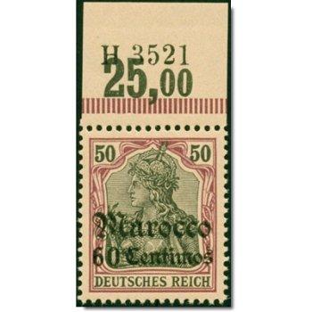 Deutsche Kolonie Marokko - Katalog-Nr. 28 HAN A H 3521, postfrisch