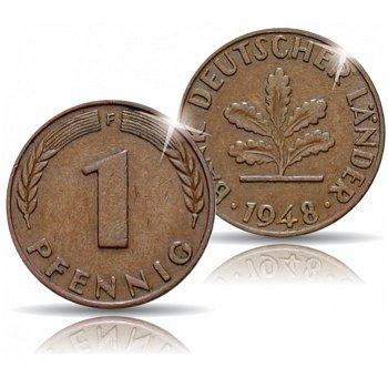 1 Pfennig von 1948, Bundesrepublik Deutschland