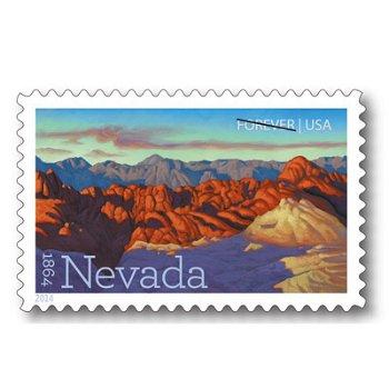 Nevada - Briefmarke postfrisch, USA