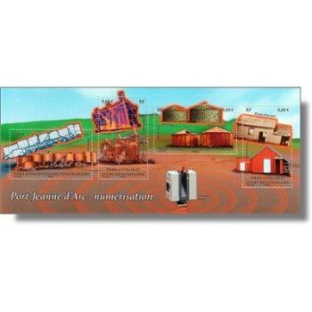 Digitalisierung von Port-Jeanne d'Arc - Briefmarken-Block postfrisch, Katalog-Nr. 762-65, Block 28,