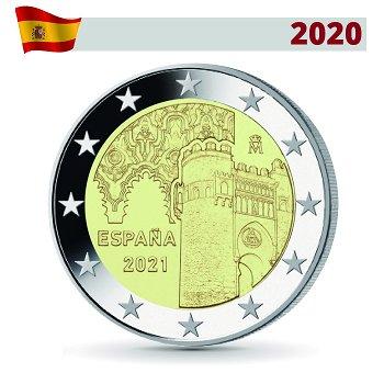 UNESCO: Altstadt von Toledo - 2 Euro Gedenkmünze 2021, Spanien