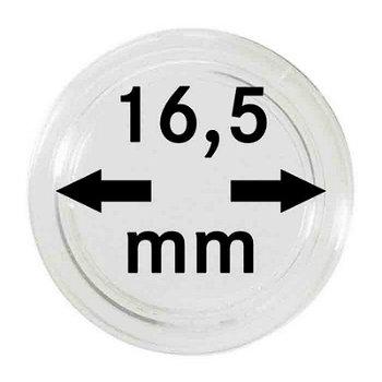 Münzkapseln,10er Pack für 1 €-Cent, LI 2250165P