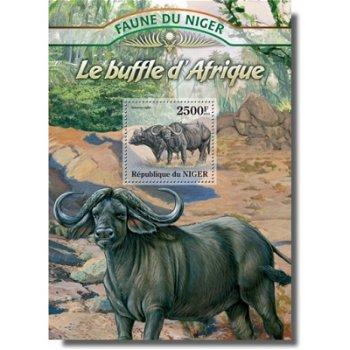 Büffel - Briefmarken-Block postfrisch, Niger