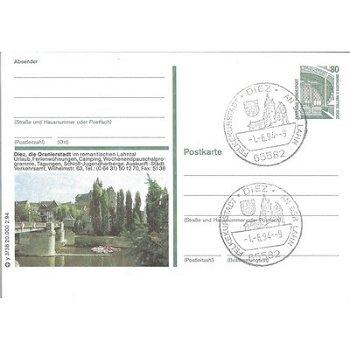 6252 Diez - picture postcard & quot; Diez die Oranienstadt. & Quot;