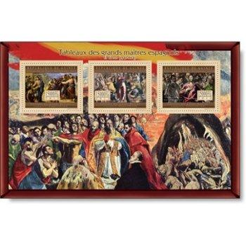 El Greco II - Briefmarken-Block postfrisch, Guinea