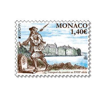 Europa 2020: Historische Postwege - Briefmarke postfrisch, Monaco