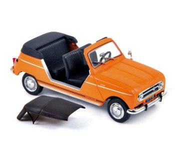 Modellauto:Renault 4 - Plein Air - von 1968, orange(Norev, 1:43)