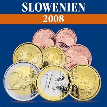 Slowenien - Kursmünzensatz 2008