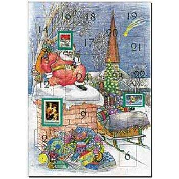 """Philatelistischer Adventskalender - Motiv """"Nikolaus"""""""