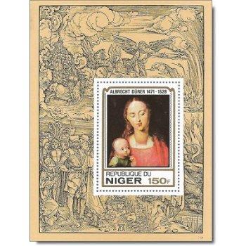 450. Todestag von Albrecht Dürer - Luxusblock postfrisch, Katalog-Nr. 652, Niger