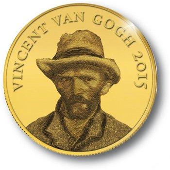 Vincent van Gogh, Goldmünze Kongo